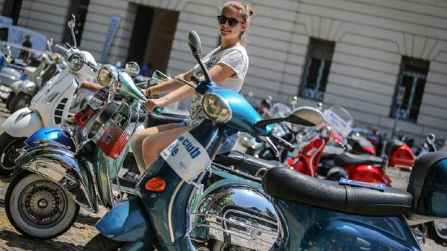 Vespa World Days 2014: invasione a Mantova!