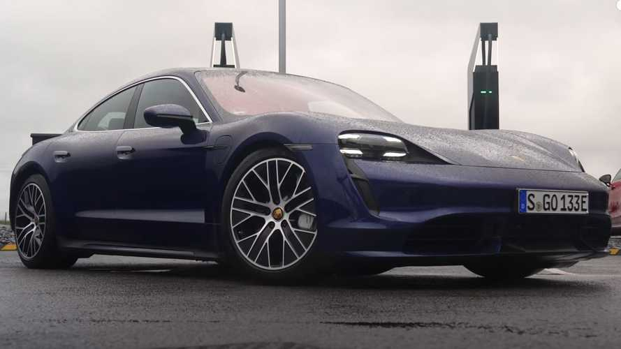 Porsche Taycan Vs Tesla Model Y Real-World Range Test Vs EPA