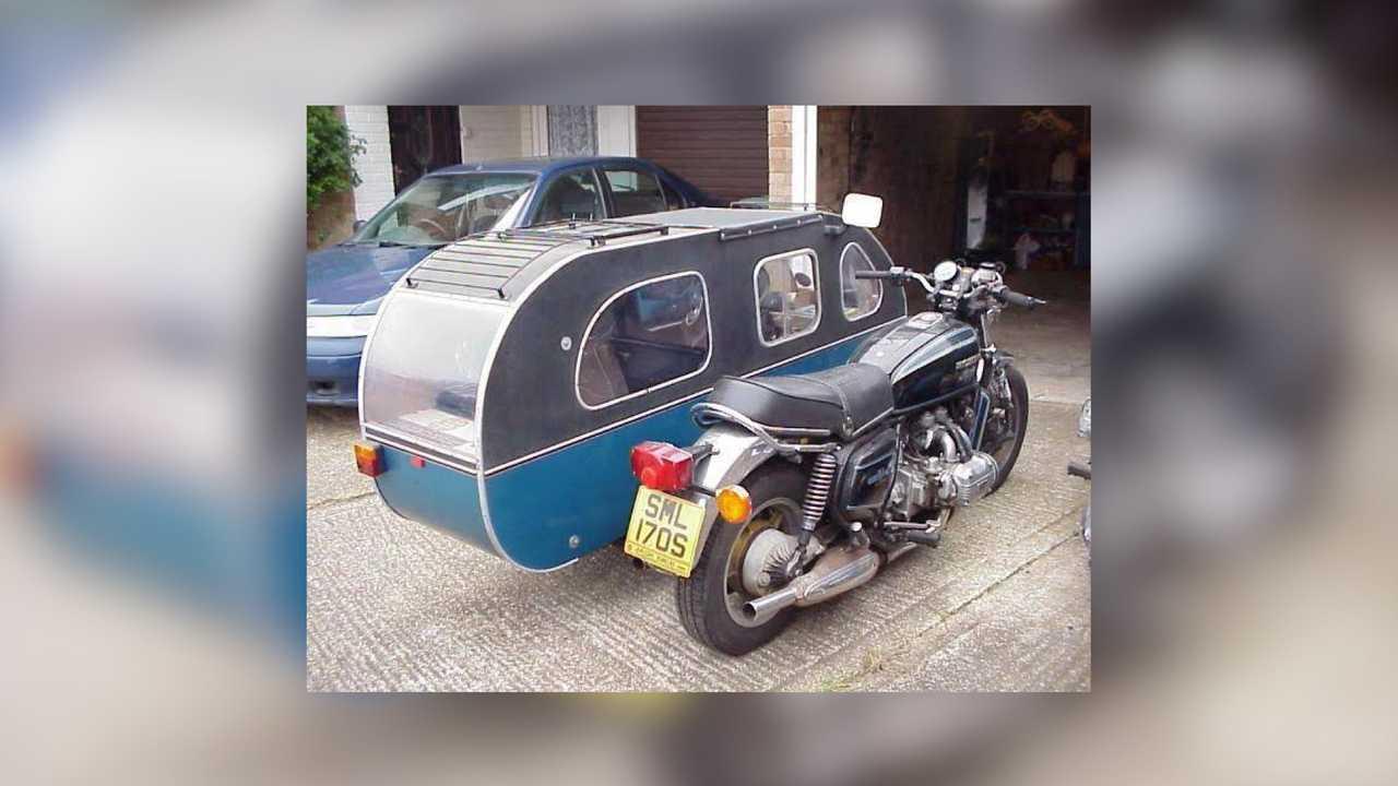 Honda GL 1000 Sidecar Camper