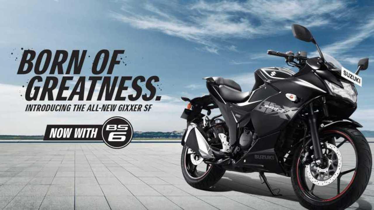 2019 Suzuki Gixxer SF 150 BS6