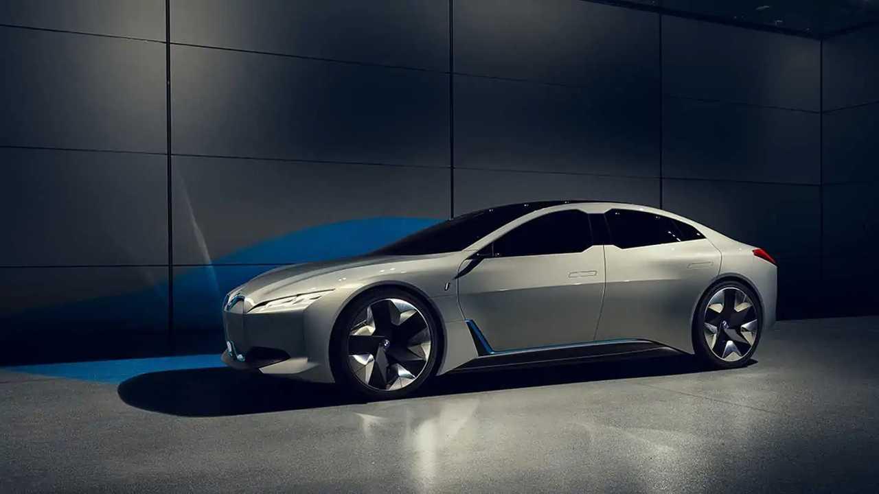 Электромобиль BMW i Vision Dynamics запустят в серию под именем i4