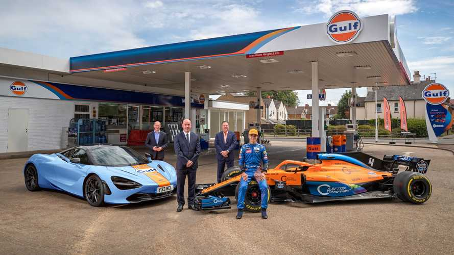 McLaren reunites with Gulf in sponsorship deal