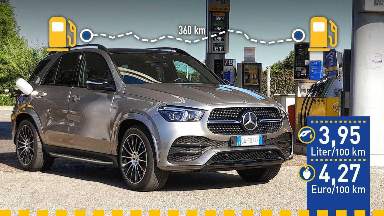 Mercedes GLE 350 de (2020) im Verbrauchstest