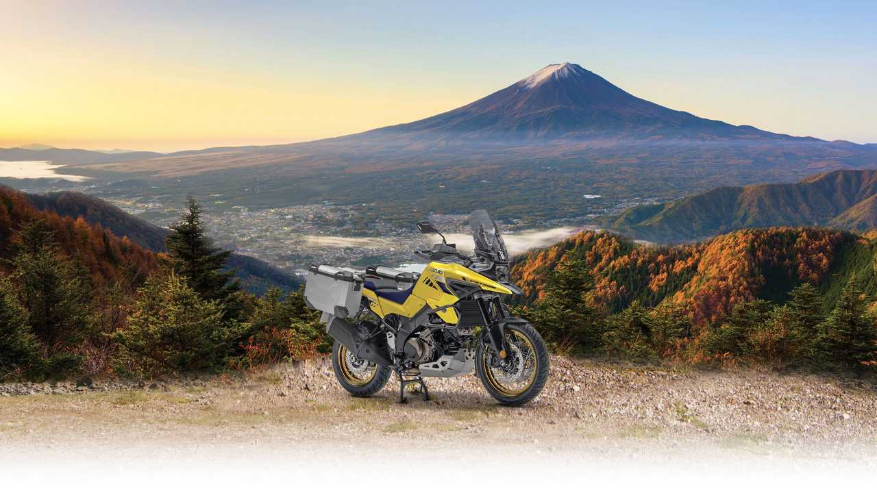 Suzuki V-Strom 1050 XT Pro - Landscape