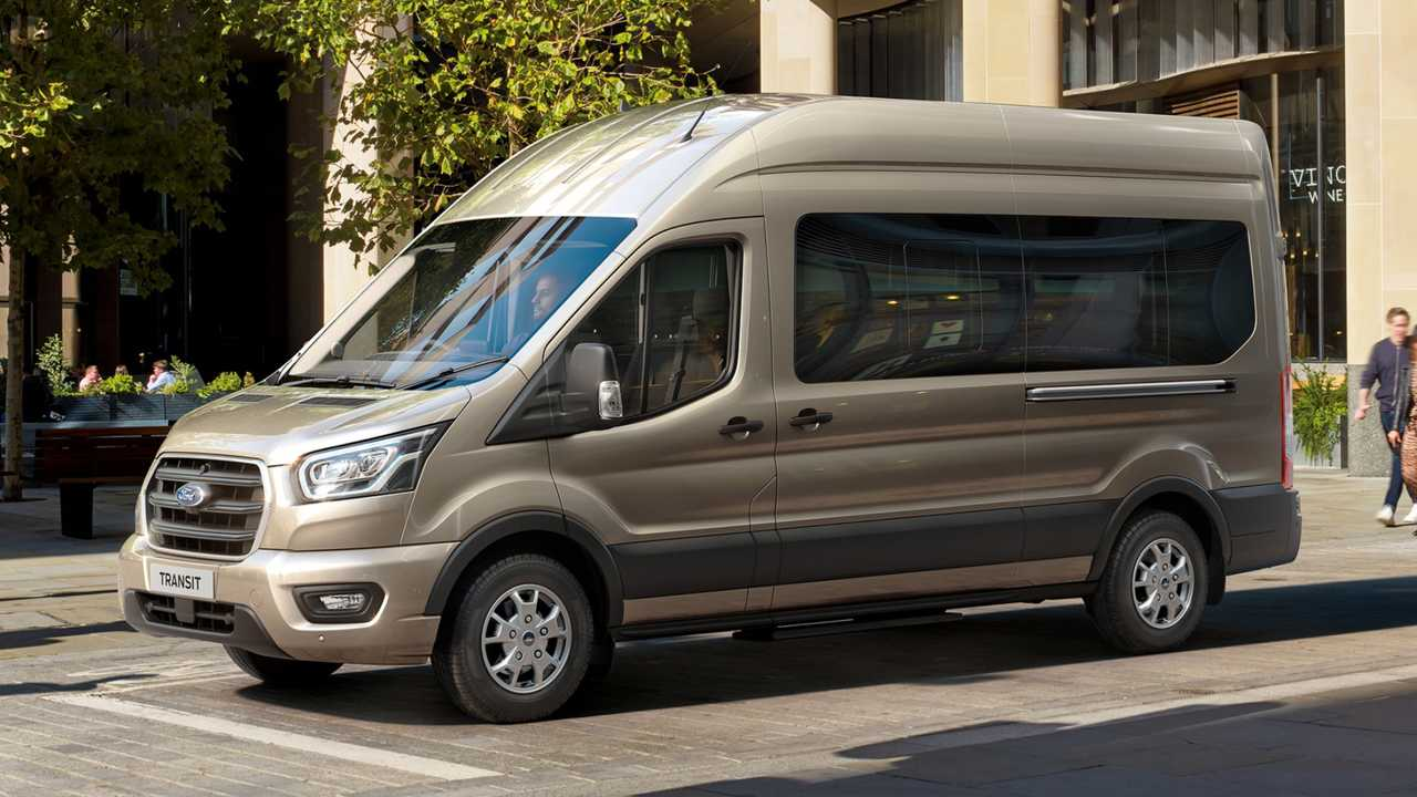 Ford Transit 10-speed automatic gearbox
