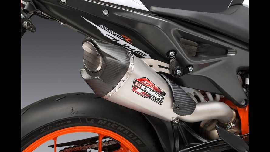 Yoshimura's AT2 Slip-On Muffler Adds Power, Noise To The KTM 890 Duke R