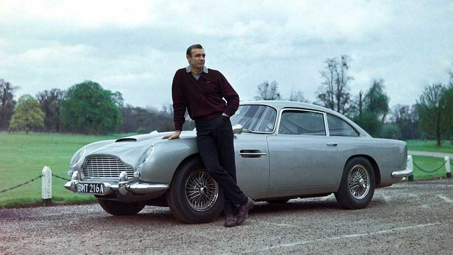 What happened to the original Goldfinger Aston Martin DB5?