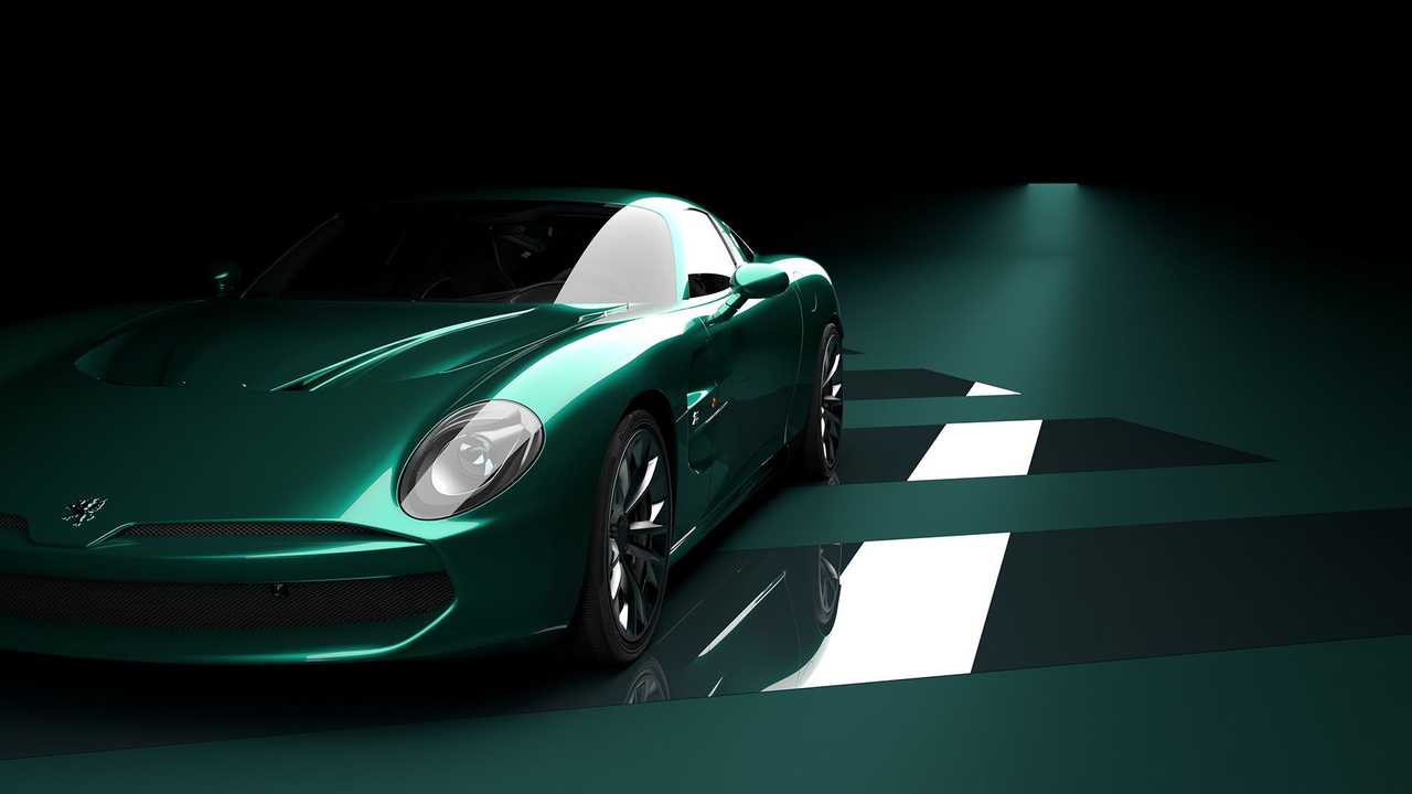 Zagato iSoriVolta GTZ (anteriore a tre quarti)
