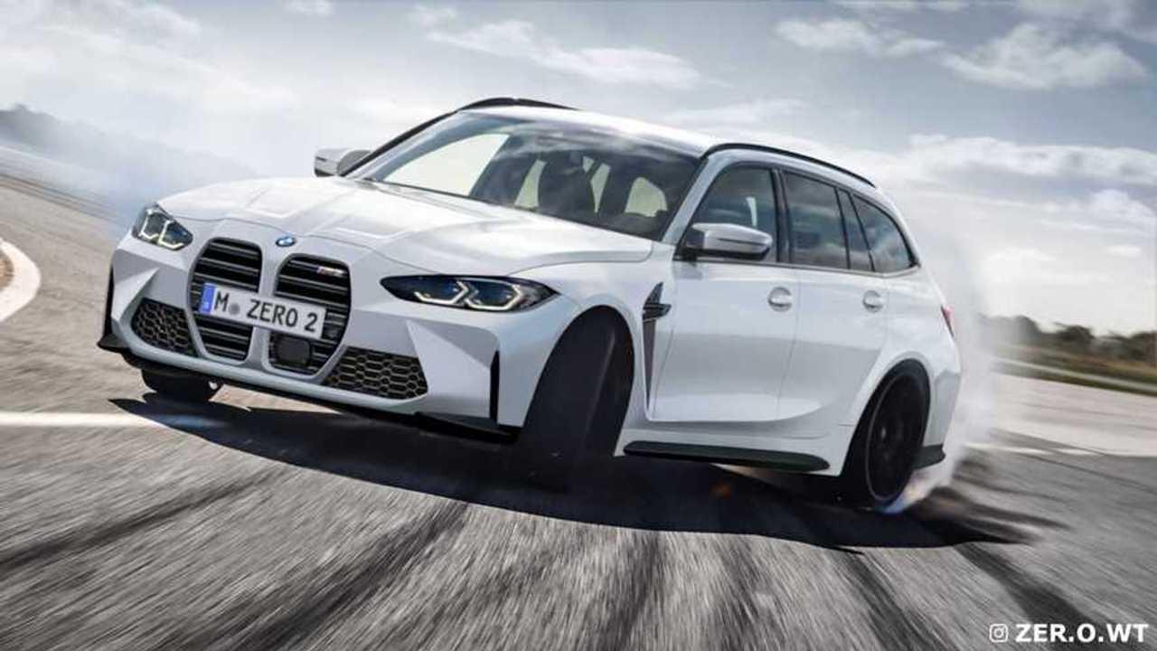 BMW M3 Touring 2022, render
