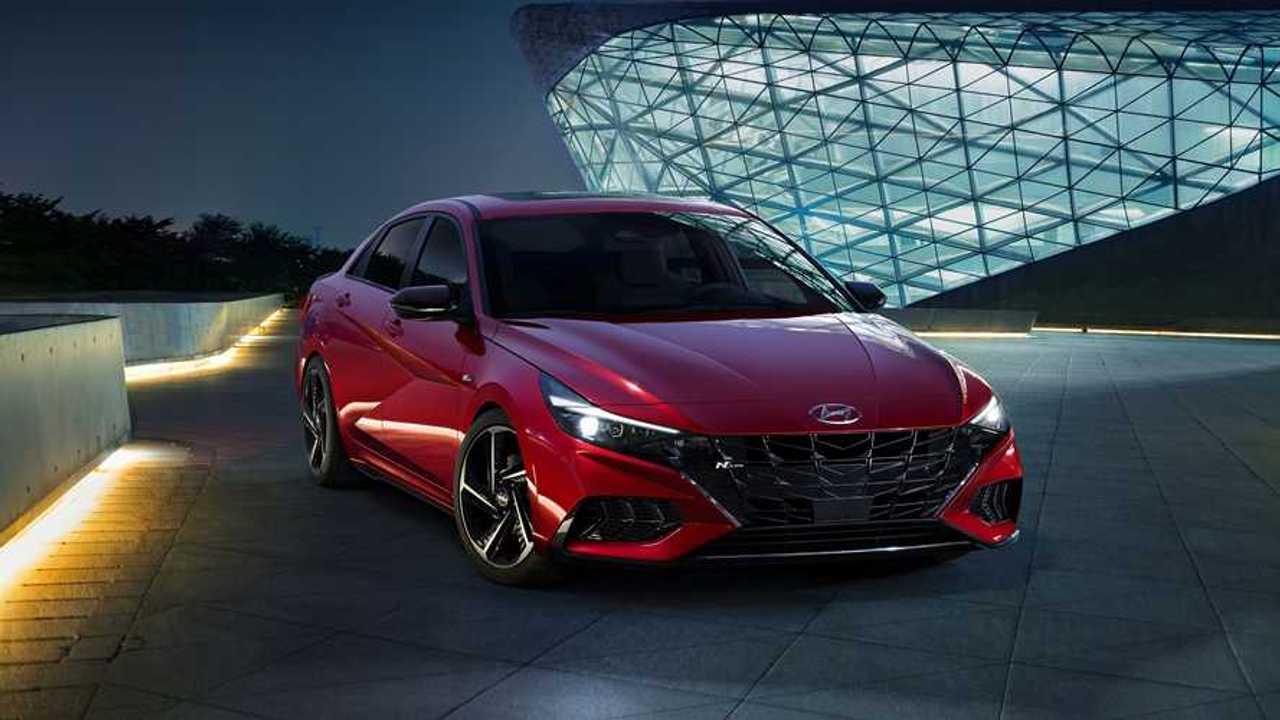 2020 Hyundai Elantra N Line Sedan