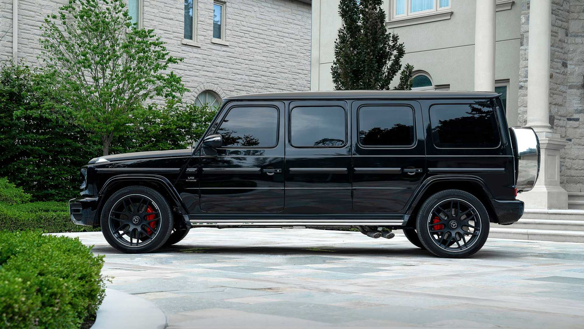 2017 - [Mercedes-Benz] Classe G II - Page 9 Inkas-mercedes-g63-armored-limo-side