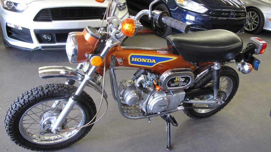 If Someone Wished For An Orange 1975 Honda ST90, Your Wish Was Granted