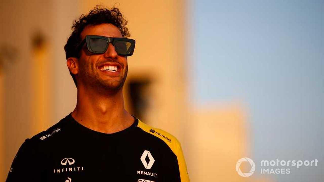 Daniel Ricciardo at Abu Dhabi GP 2019