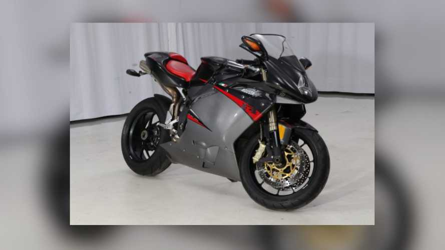Italian Stallion: 2007 MV Agusta F4 1000R For Sale