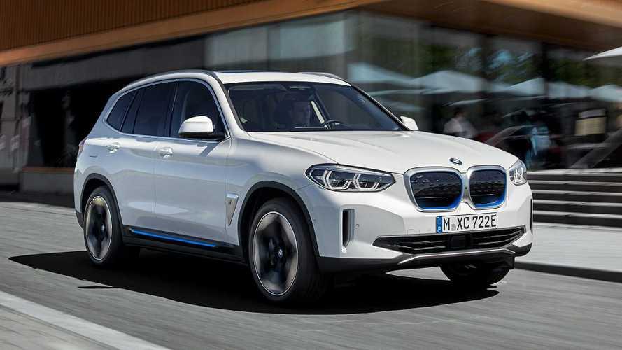 BMW iX3 2020: así es el primer SUV eléctrico de la marca alemana