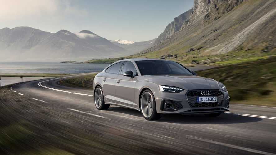 Audi A5, incentivi statali con metano e mild hybrid