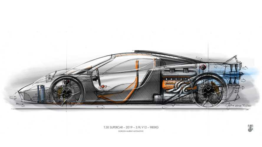 La Supercar T.50 de Gordon Murray continue son effeuillage