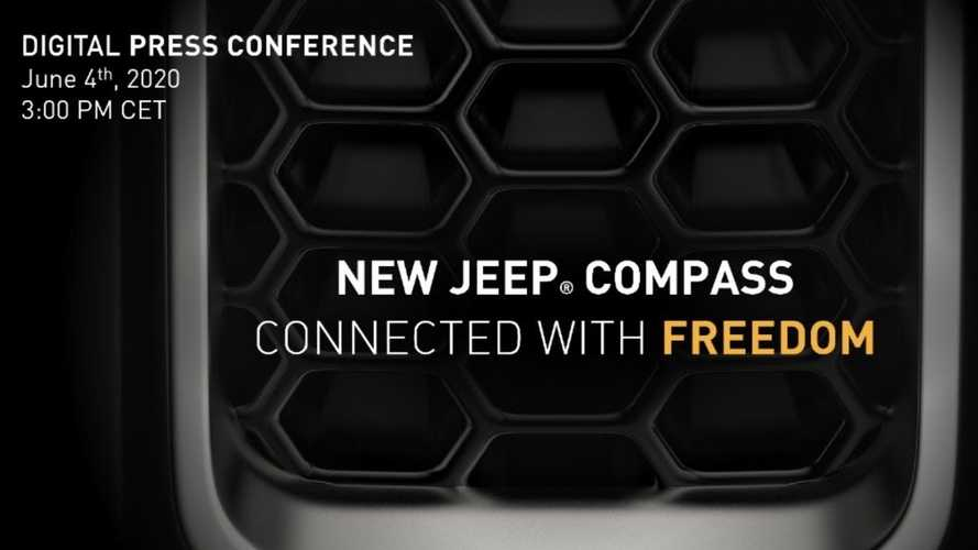 2021 Jeep Compass Teased Ahead Of June 4 Reveal