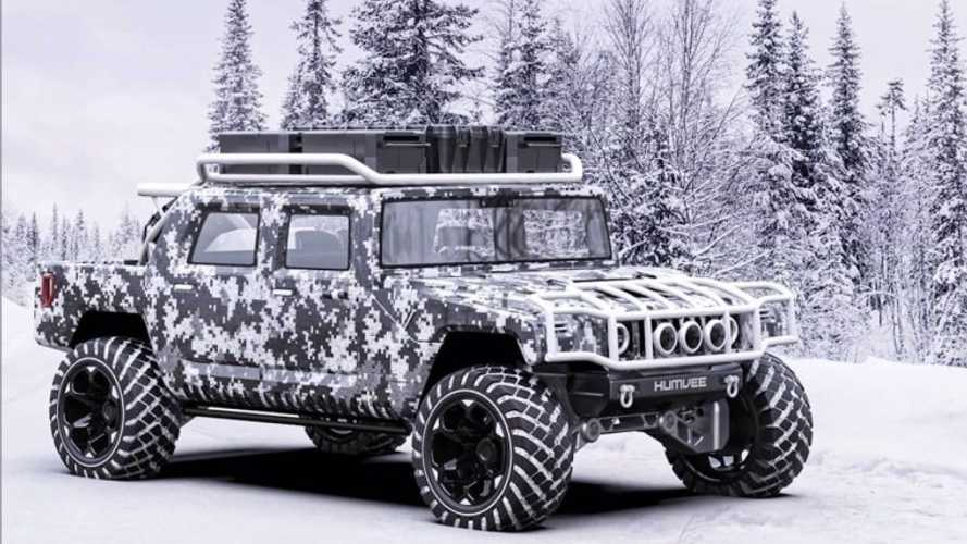 Reborn Hummer H1 Rendered By Rezvani Tank Designer
