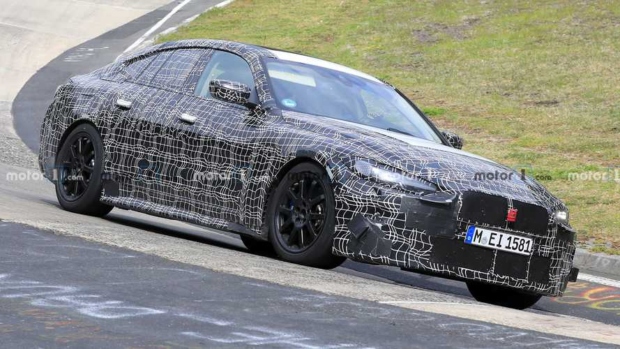 New BMW 4 Series Gran Coupe spy shots show it at the 'Ring