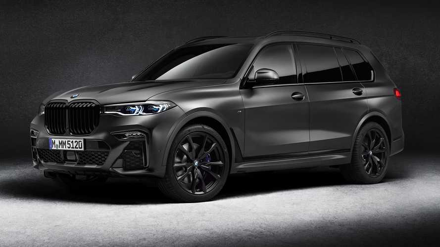 2021 BMW X7 Dark Shadow Edition Debuts Looking Shady AF