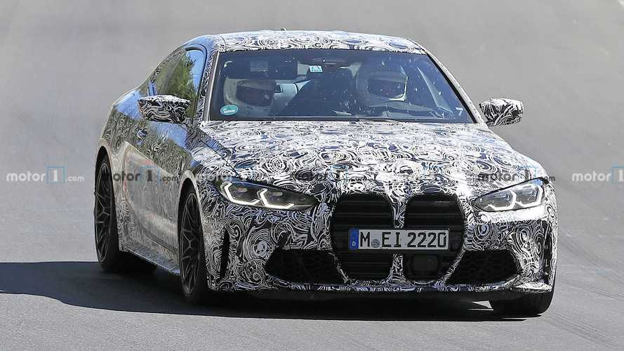 BMW M4 Spy Photos