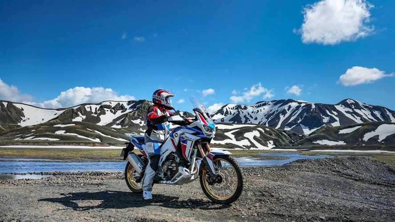 Honda Adventure Roads 2021in Islanda