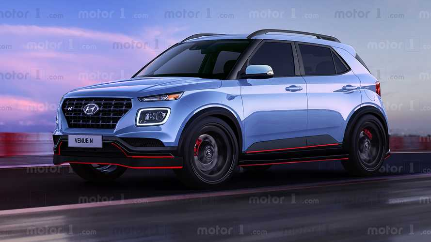 Render Hyundai Venue N 2020: ¿altas prestaciones para el SUV urbano?