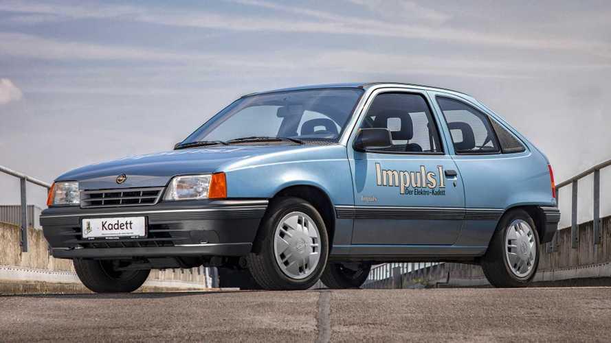 El Opel Kadett Impuls I, abuelo del Corsa-e, celebra su 30 aniversario
