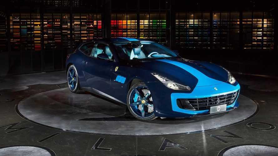 Garage Italia vend une Ferrari GTC4... et l'Abarth 595 assortie !