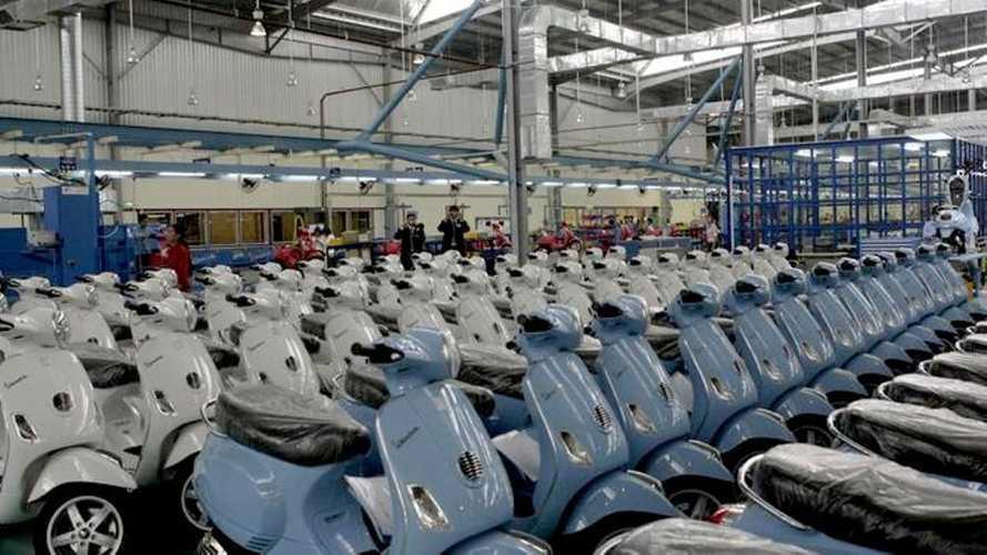 Gruppo Piaggio: la produzione torna al 100% in tutto il mondo