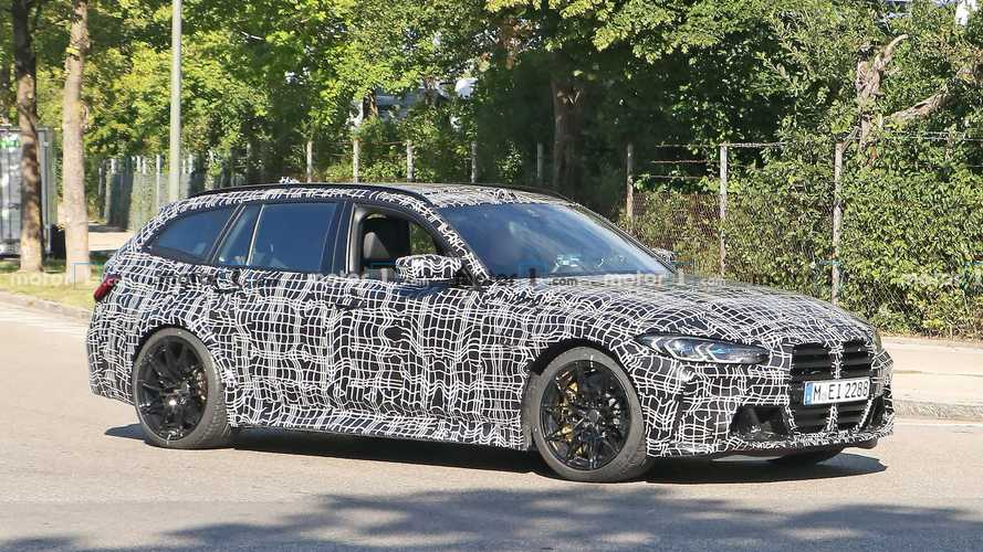 BMW M3 Touring estate spied properly for the first time