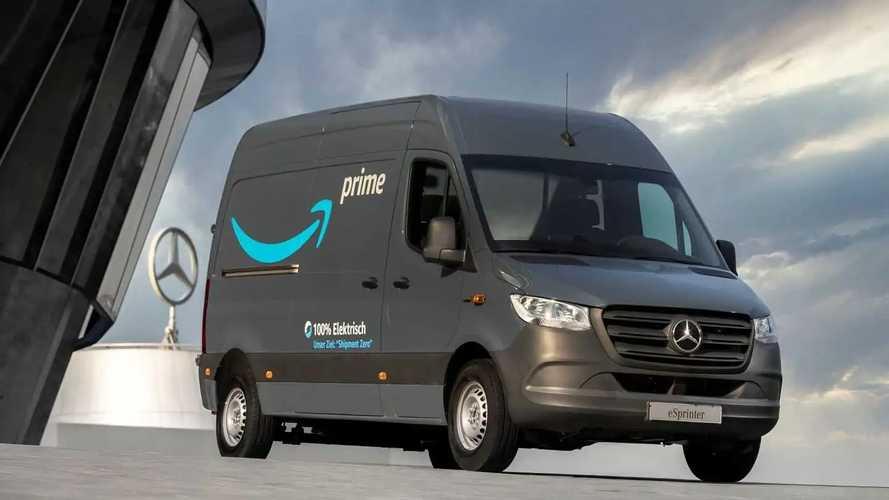 Majdnem kétezer elektromos Mercedes-furgont rendelt európai műveleteihez az Amazon