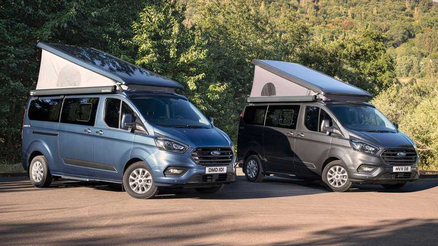 Ford stretches Transit Custom Nugget camper with new model
