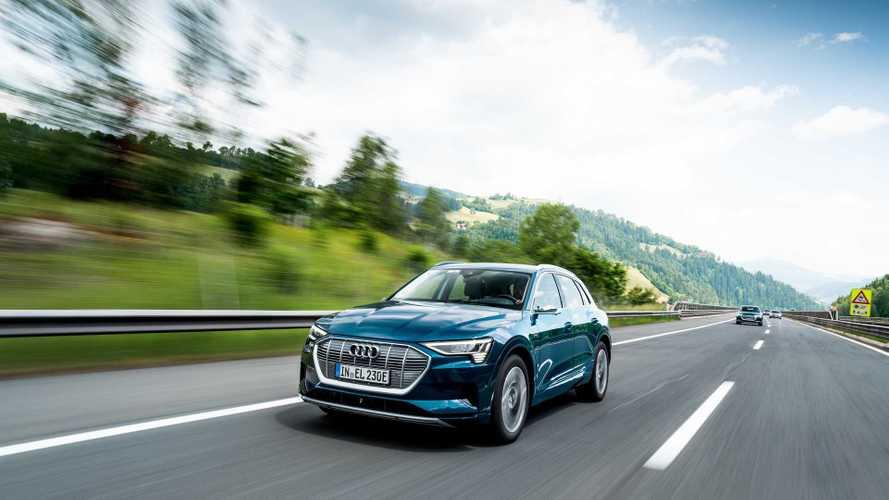 Audi e-tron добрался до России уже усовершенствованным