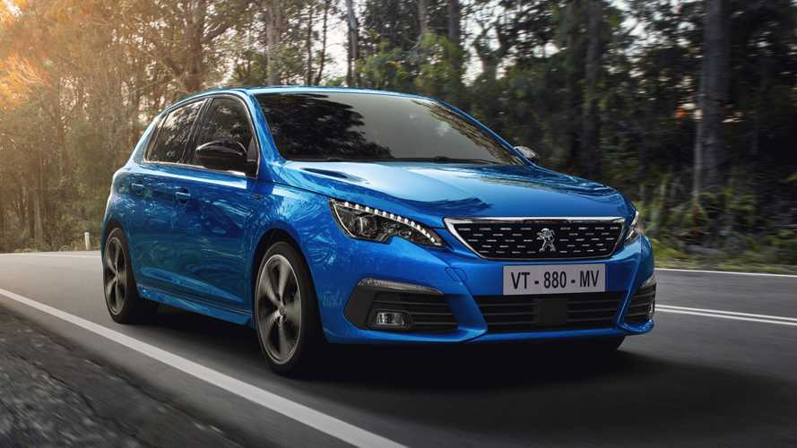 Updated Peugeot 308 range starts at just over £21k