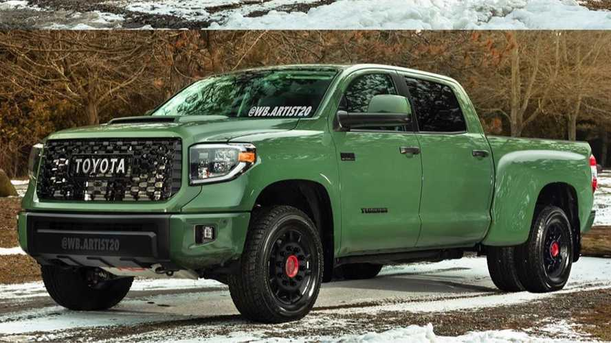 Toyota Tundra Rendered As A Heavy-Duty Truck