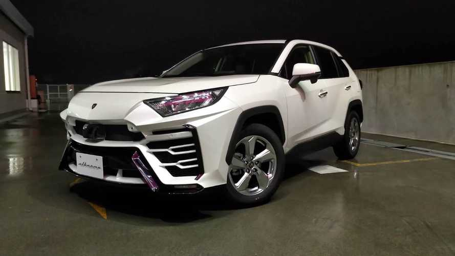 Toyota RAV4, il Body Kit by Albermo