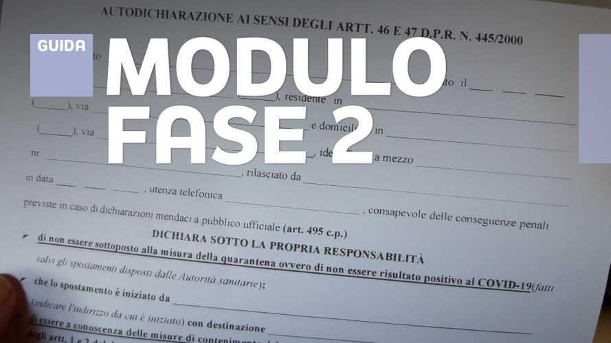 Autocertificazione Fase 2, il nuovo modulo e le regole per gli spostamenti
