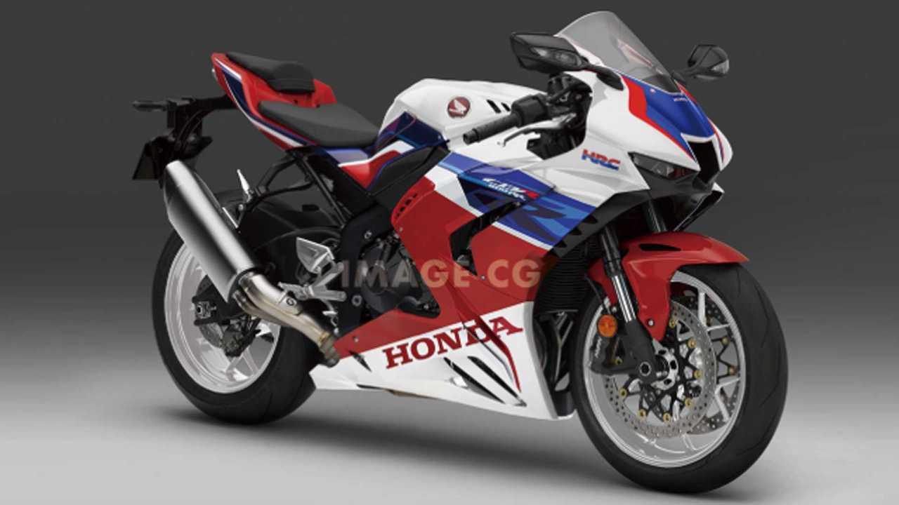 Honda CBR600RR 2021 - Projeção