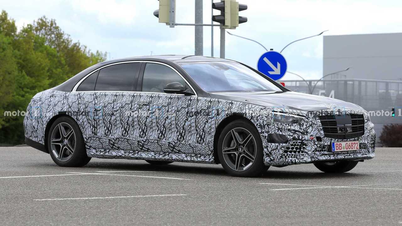 2020 Mercedes S-Serisi Sedan Casus Fotoğraflar