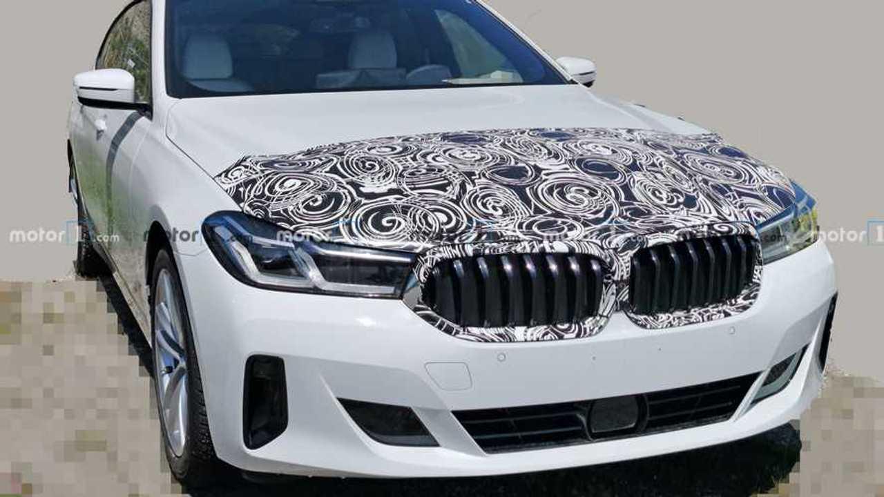 BMW 6 Series GT Spy Photos