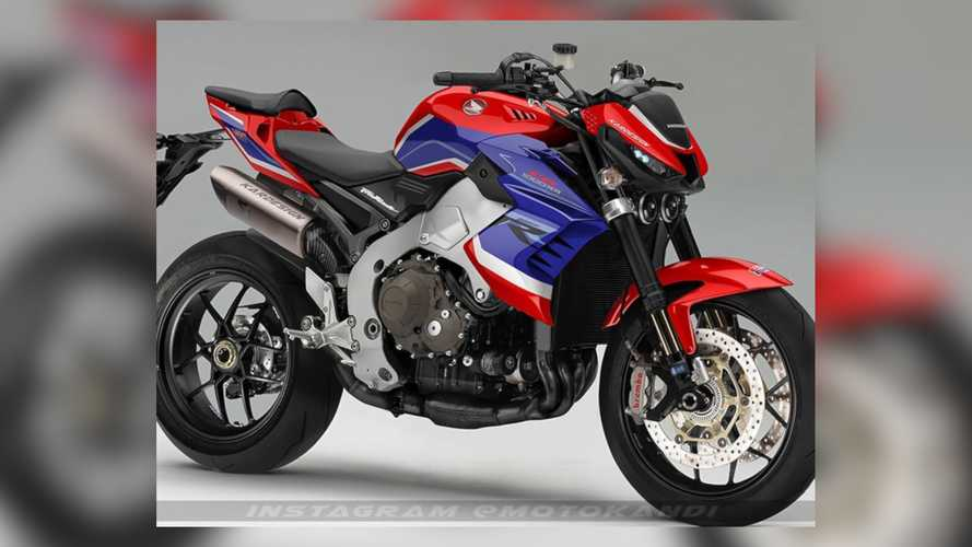 How Much Do You Want This Honda Streetfighter CB1000RR Concept To Be Real?