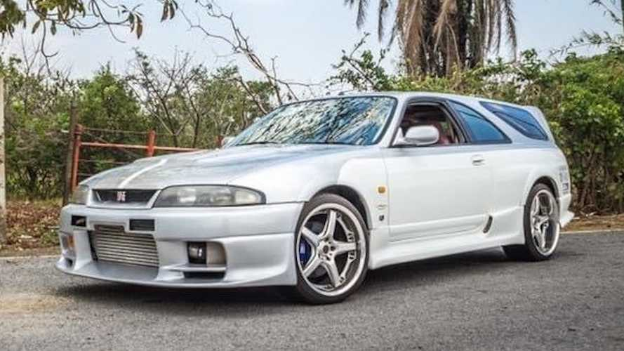 Nissan Skyline GT-R Speed Wagon Is What Long-Roof Dreams Are Made Of