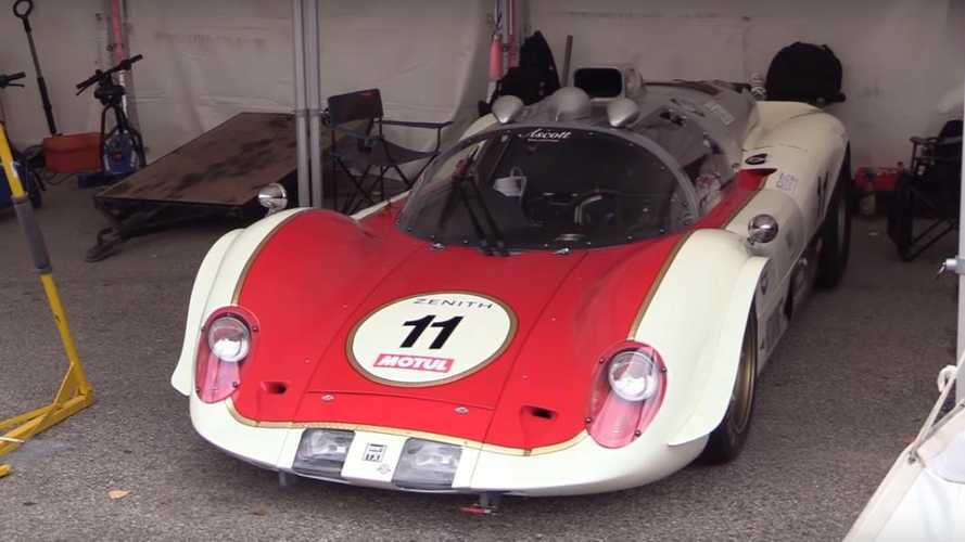 Watch: The 1960s racecar powered by a helicopter turbine