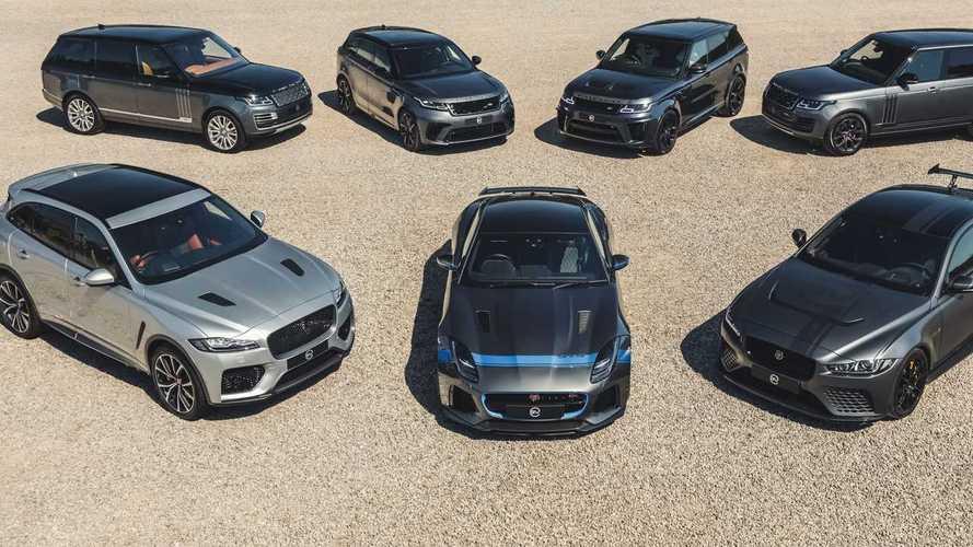 Jaguar Land Rover Special Vehicle Operations division enjoys sales leap