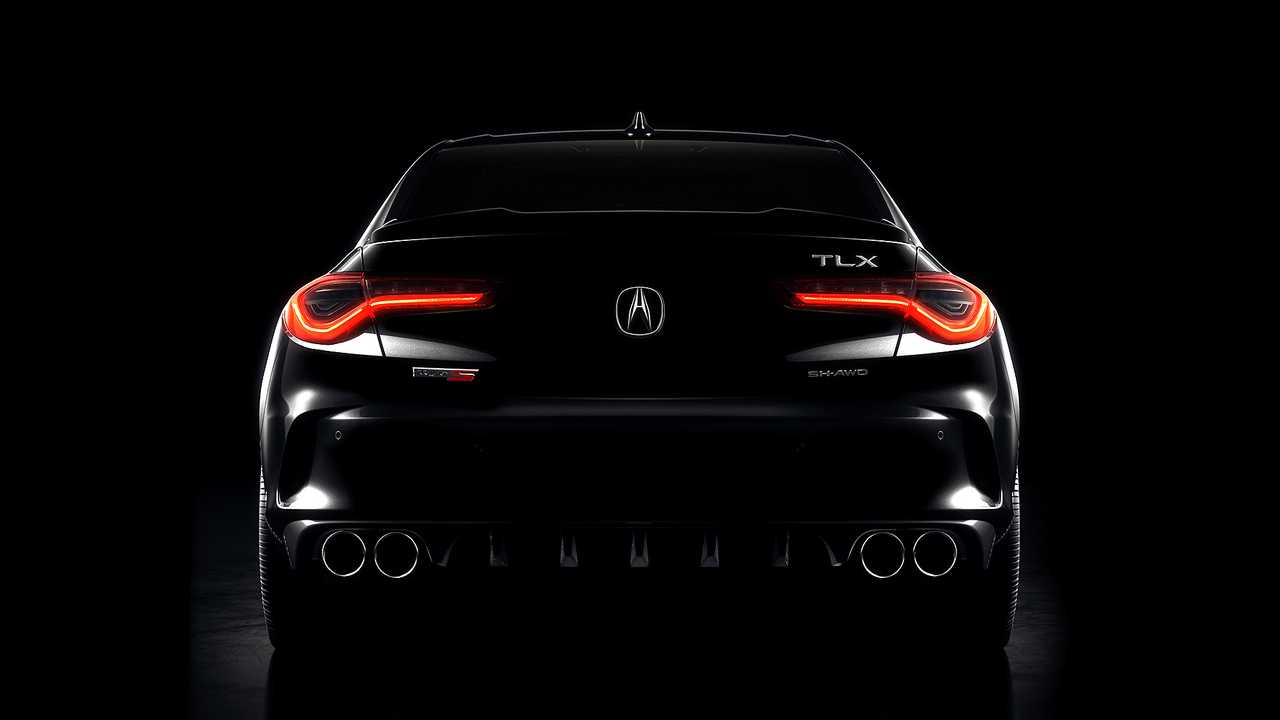 2021 Acura TLX Type S: Teaser