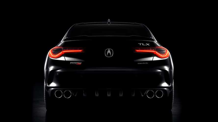2021 Acura TLX Teaser Previews Type S Revival, New Turbocharged V6