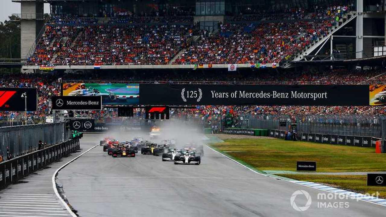 German GP 2019 start race