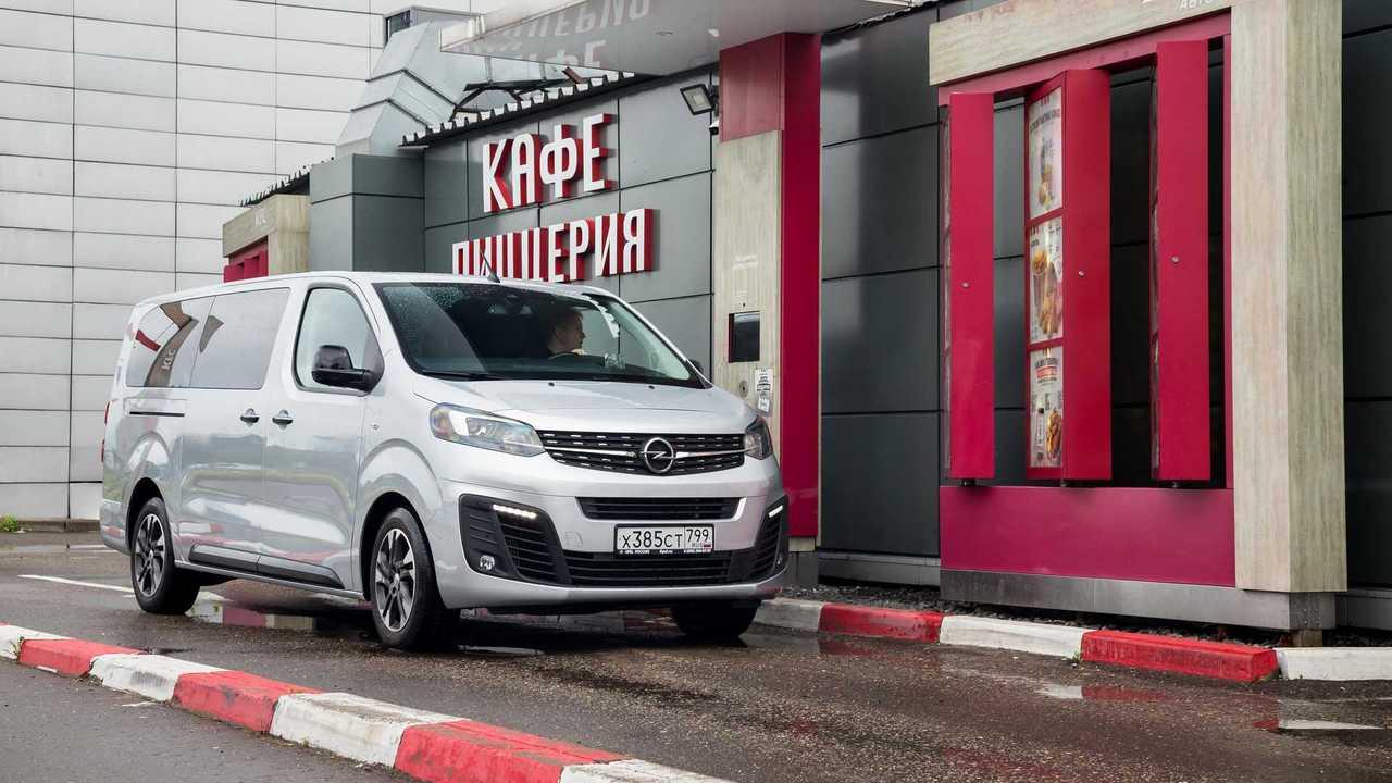 Opel Zafira Life - едем и едим